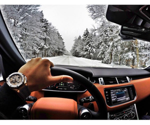 car, luxury, and snow image