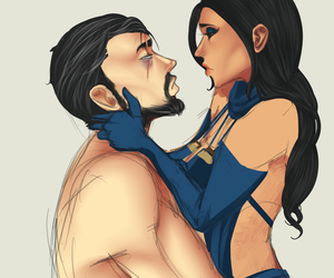 kitana, mortal kombat, and sub-zero image