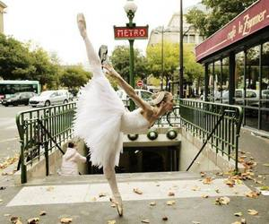 ballet, dance, and metro image