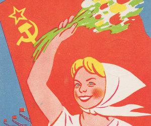 celebration, communism, and etsy image