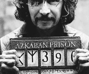 sirius black, azkaban, and harry potter image