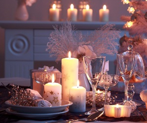 christmas and candle image