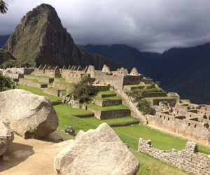 peru, machu pichu, and traveling image