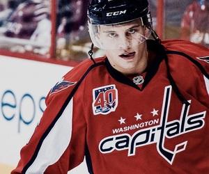 boy, caps, and hockey image