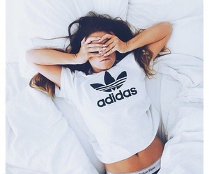 adidas, girl, and Calvin Klein image