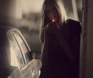 cara delevingne, model, and smoke image