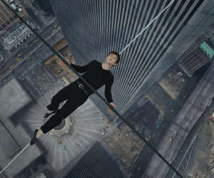 the walk, philippe petit, and joseph gordon levitt image