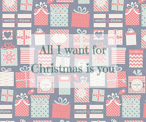christmas, quote, and romance image