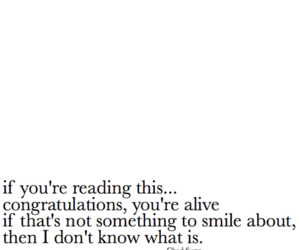 quote, alive, and chad sugg image