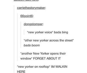 funny, haha, and new york image