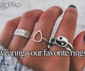 rings and justgirlythings image