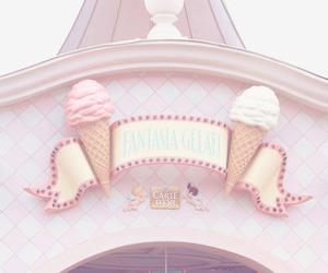 pink, ice cream, and disney image