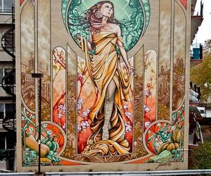graffiti, art, and mural image