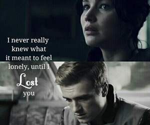 love, katniss everdeen, and the hunger games image