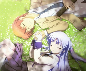 angel beats, anime, and kanade image