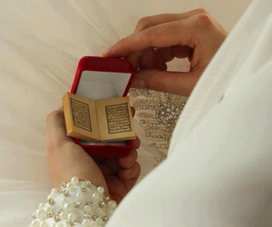 quran, islam, and bride image