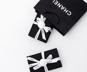 chanel, chanel gifts, and chanel bow image