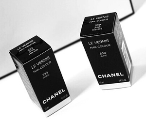 chanel, nails, and girly image