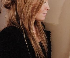 blonde, fashion, and hairdo image