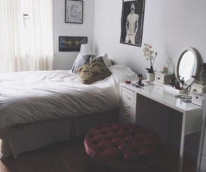 bedroom, indie, and photography image