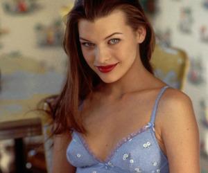 Milla Jovovich and 90s image