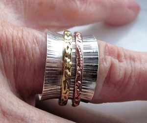stacking rings, promise ring, and fidget rings image