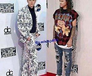 justin bieber and Harry Styles image