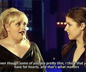 pitch perfect, quote, and fat amy image
