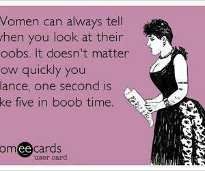 boobs, funny, and someecards image