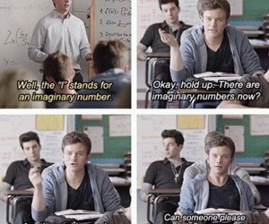 funny, school, and math image