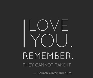 delirium, love, and book image