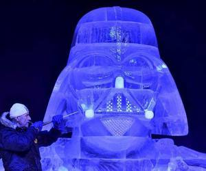 cool, darth vader, and ice image