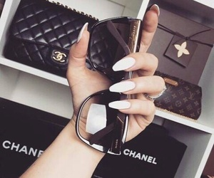 chanel, nails, and fashion image