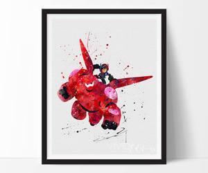 art, disney, and big hero 6 image