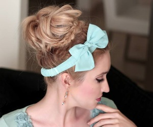 peinados, lazos, and lindos peinados image