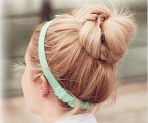 lazos, peinado, and lindos peinados image