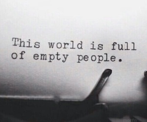 empty, people, and quotes image