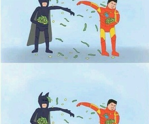 batman, spiderman, and funny image