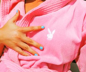 pink, Playboy, and bunny image