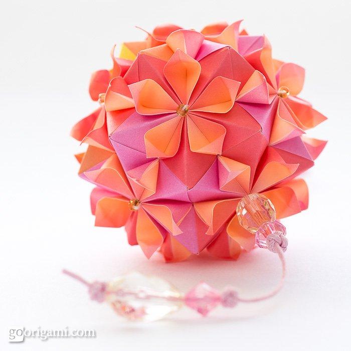 Origami Cherry Blossom - Origami Easy - YouTube   700x700
