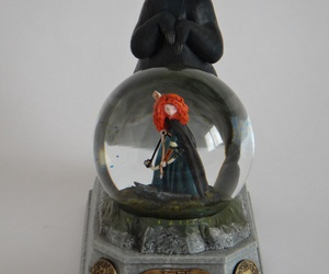 brave, merida, and snow globe image