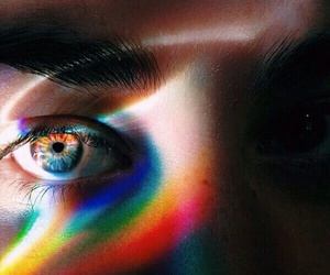 colored, eye, and cute image