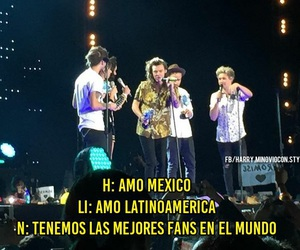 one direction, méxico, and louis image