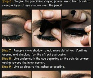 tutorial, makeup, and beauty image