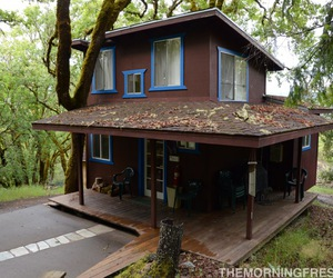 cabin, outdoors, and simple living image