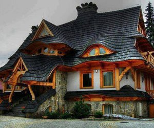 colors, enchanted, and house image