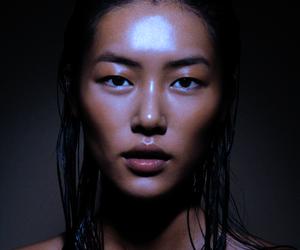 model, beauty, and eyes image