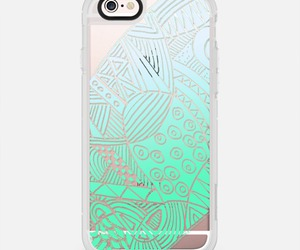 mint, transparent, and casetify image