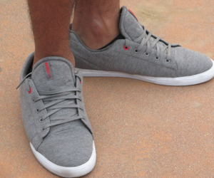 gray, shoes, and supra image