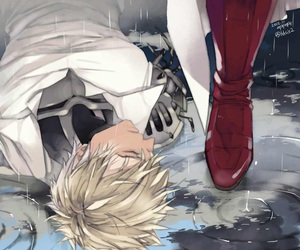 one punch man, anime, and genos image